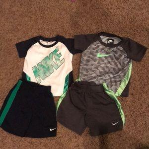 Toddler 24 months Nike short sets